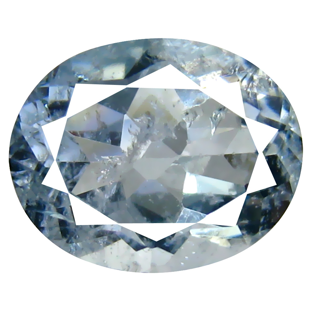 2.43 ct Oval Shape (10 x 8 mm) Brazilian Blue Aquamarine Loose Gemstone