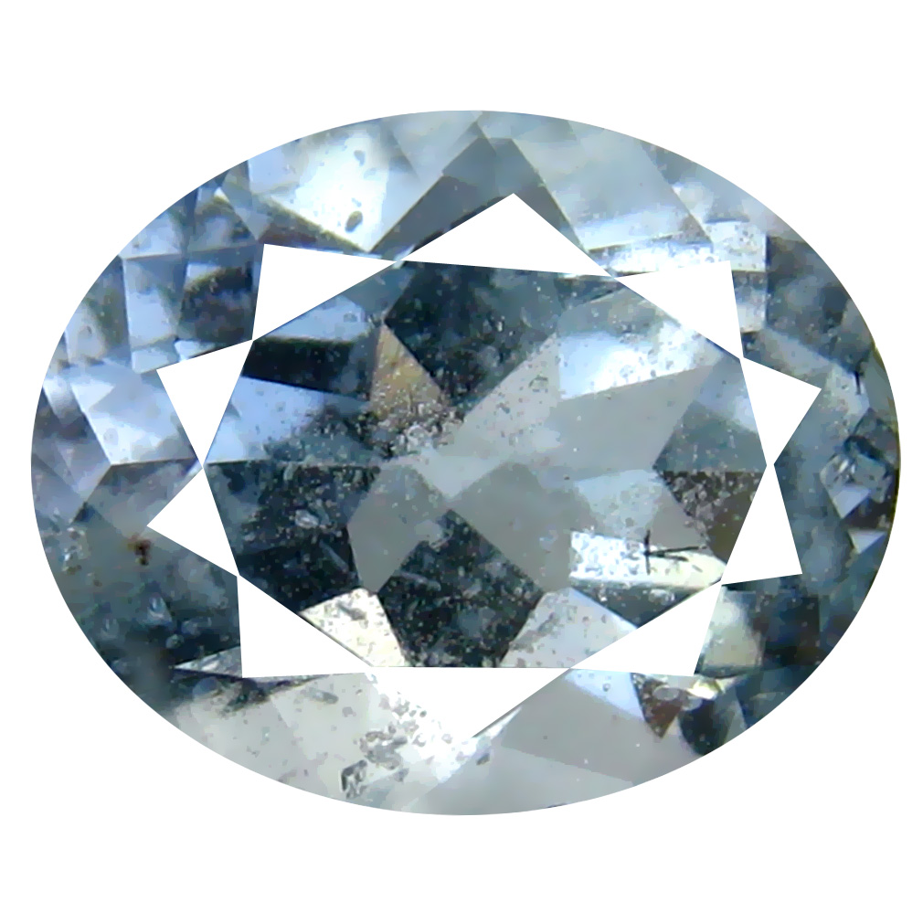 2.32 ct Oval Shape (10 x 8 mm) Brazilian Blue Aquamarine Loose Gemstone