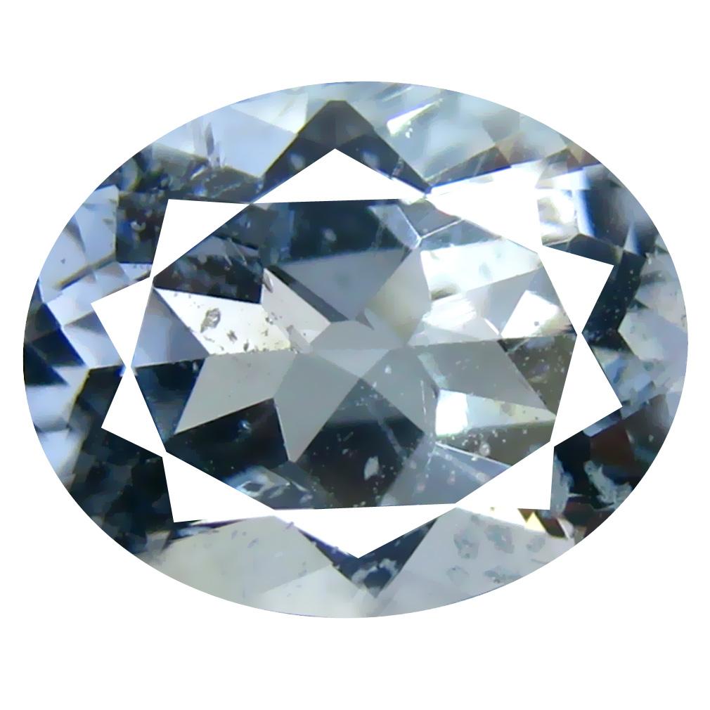 2.31 ct Oval Shape (10 x 8 mm) Brazilian Blue Aquamarine Loose Gemstone