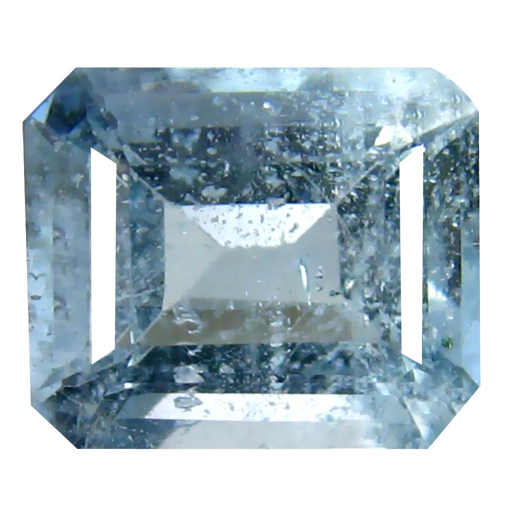 2.99 ct Octagon Shape (9 x 7 mm) Brazilian Blue Aquamarine Loose Gemstone
