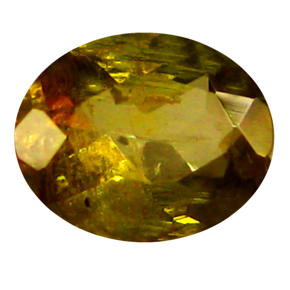 0.36 ct Oval Shape (5 x 4 mm) Brazilian Brownish Orange Andalusite Loose Gemstone