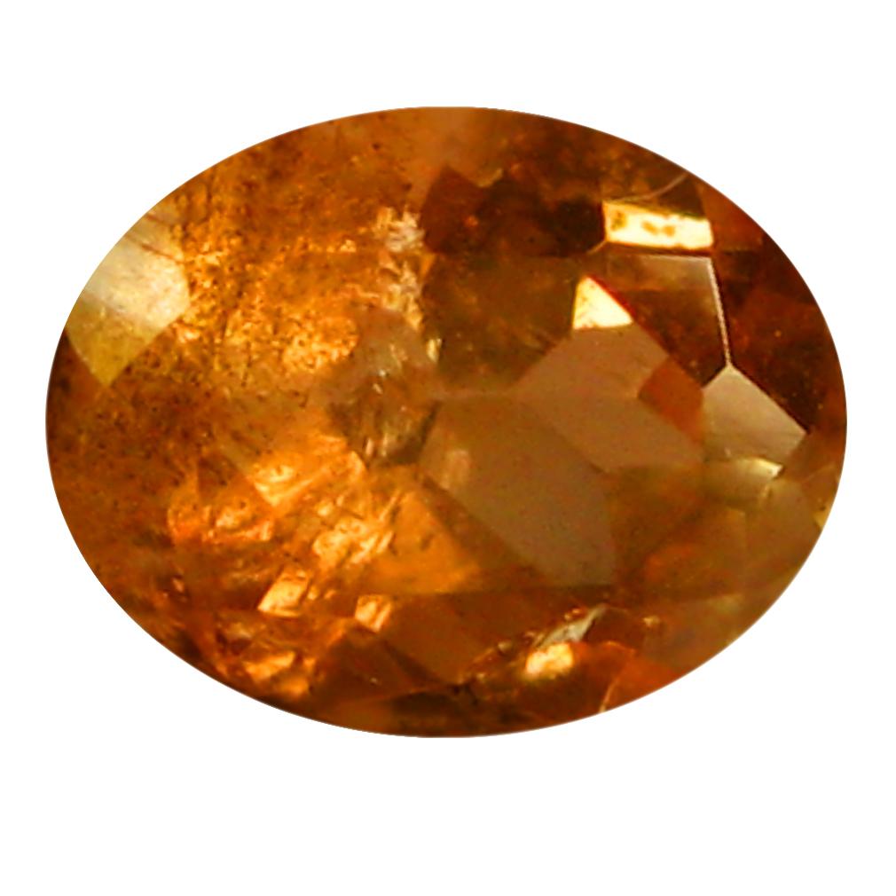0.43 ct Oval Shape (5 x 4 mm) Brazilian Brownish Orange Andalusite Loose Gemstone