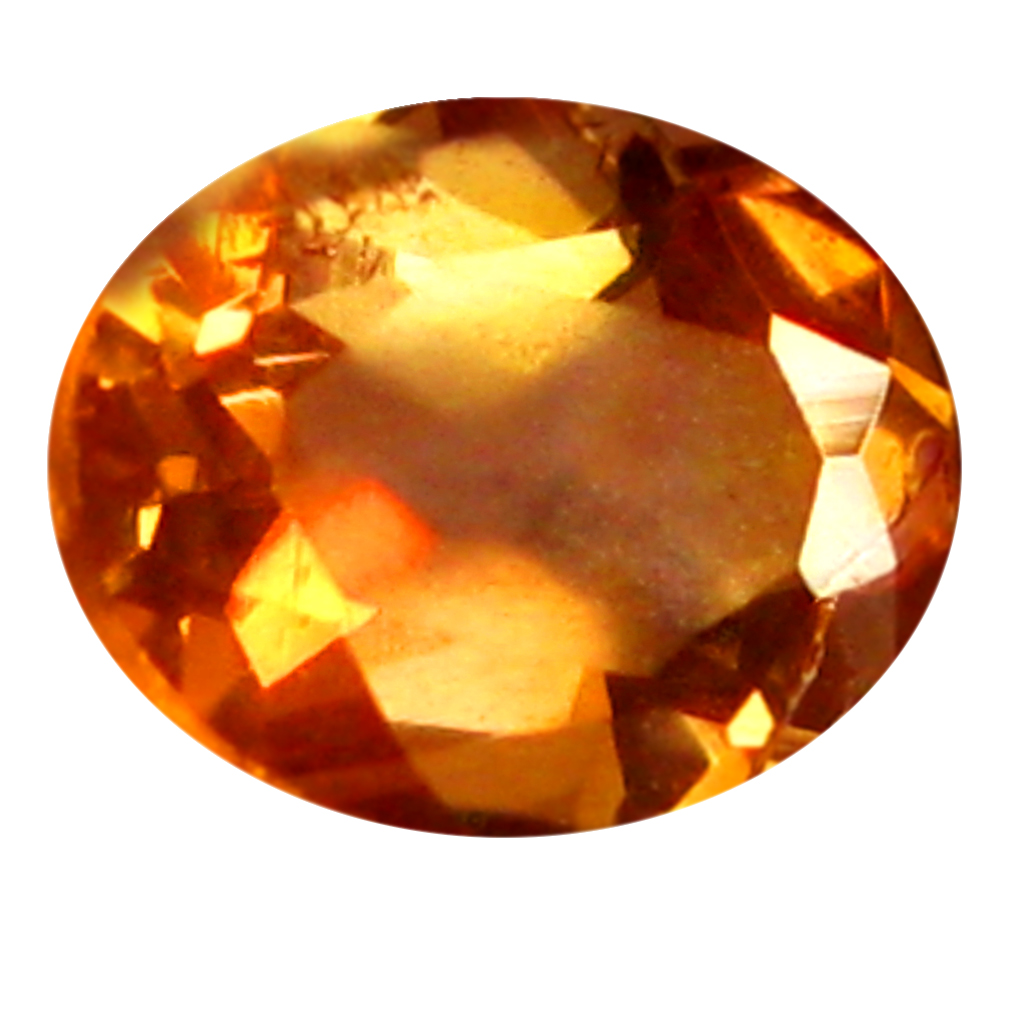 0.34 ct Oval Shape (5 x 4 mm) Brazilian Brownish Orange Andalusite Loose Gemstone
