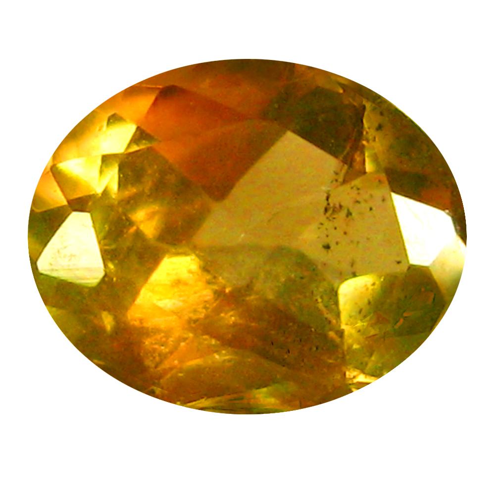 0.37 ct Oval Shape (5 x 4 mm) Brazilian Brownish Orange Andalusite Loose Gemstone
