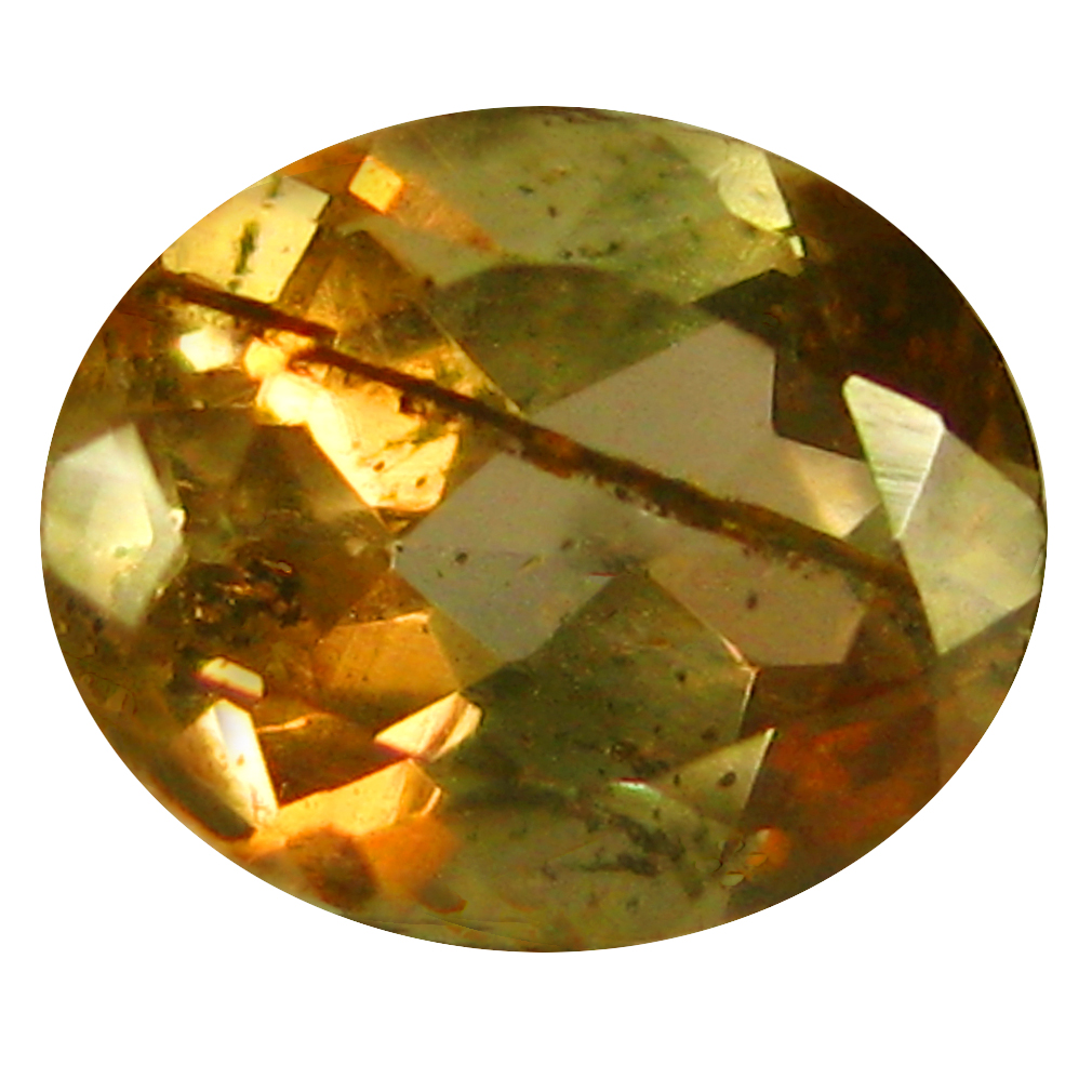 0.41 ct Oval Shape (5 x 4 mm) Brazilian Brownish Orange Andalusite Loose Gemstone