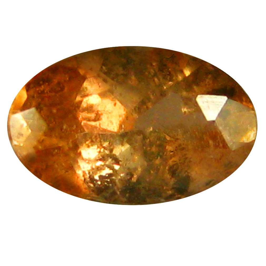 0.22 ct Oval Shape (5 x 3 mm) Brazilian Brownish Orange Andalusite Loose Gemstone