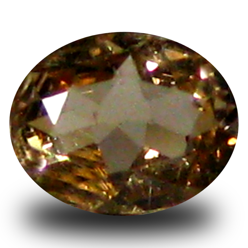 0.30 ct AAA Grade Outstanding Oval Cut (5 x 4 mm) 100% Natural Brownish Yellow Axinite Gemstone