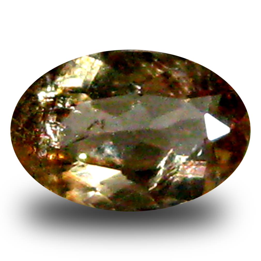 0.50 ct AAA Grade Best Oval Cut (7 x 4 mm) 100% Natural Brownish Yellow Axinite Gemstone