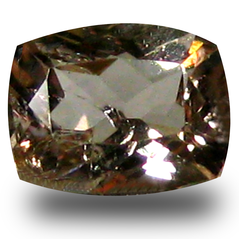 0.52 ct AAA Grade Superb Cushion Cut (6 x 5 mm) 100% Natural Brownish Yellow Axinite Gemstone