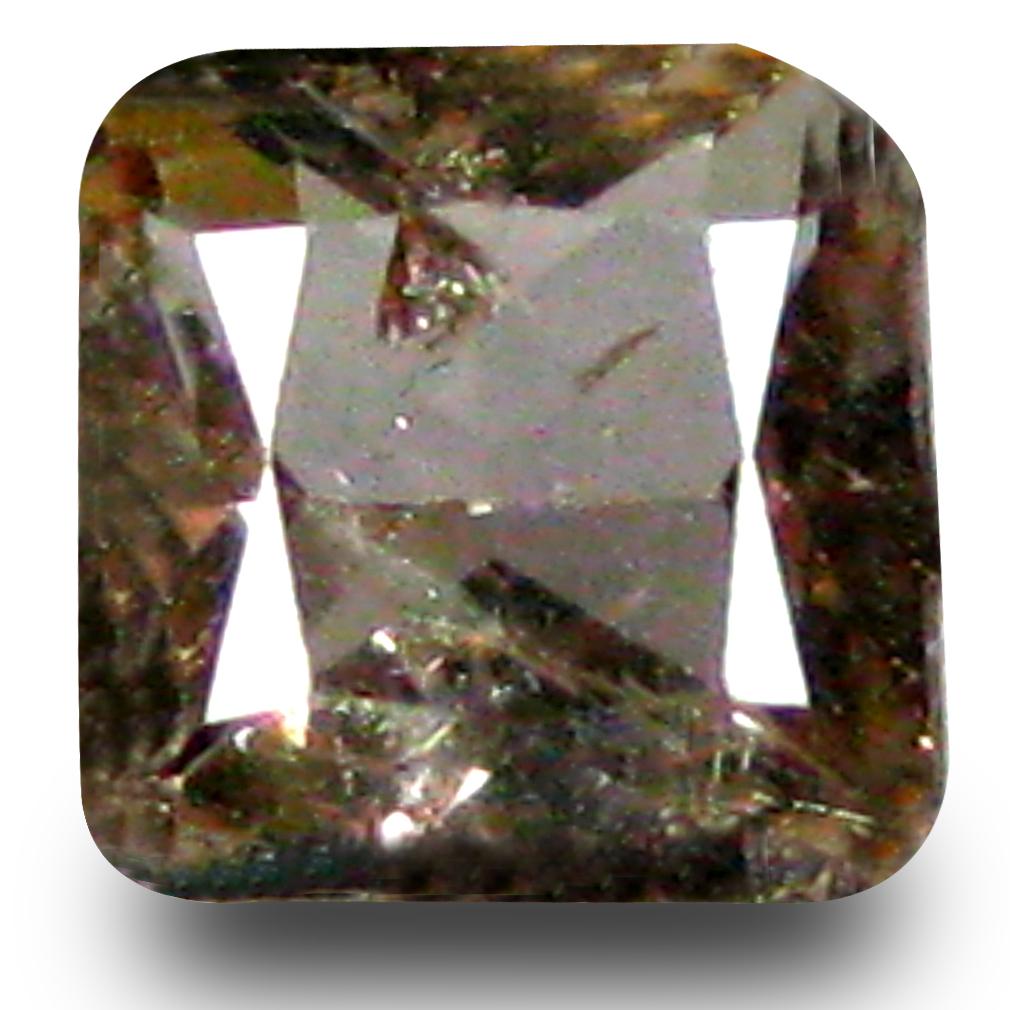 0.62 ct AAA Grade Good-looking Princess Cut (5 x 5 mm) 100% Natural Brownish Yellow Axinite Gemstone
