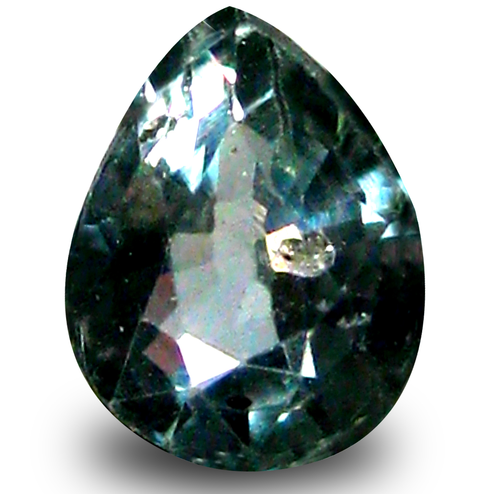 0.53 ct AAA Resplendent Pear Shape (5 x 4 mm) Natural Blue Sapphire Loose Stone