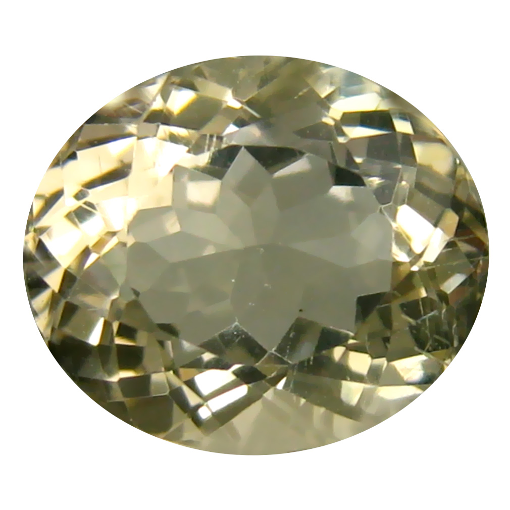 4.15 ct Incredible Oval Cut (11 x 10 mm) Un-Heated Natural Yellow Andesine Loose Gemstone