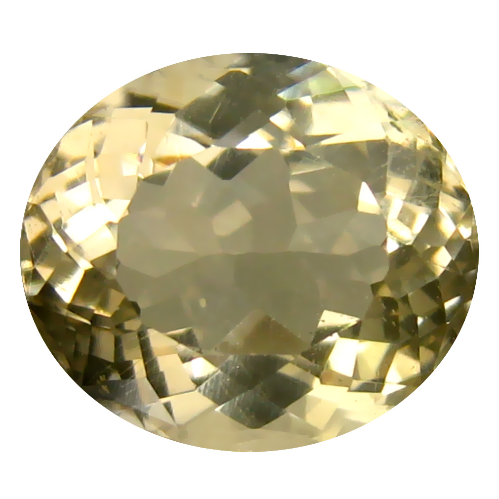 4.88 ct Fantastic Oval Cut (11 x 10 mm) Un-Heated Natural Yellow Andesine Loose Gemstone