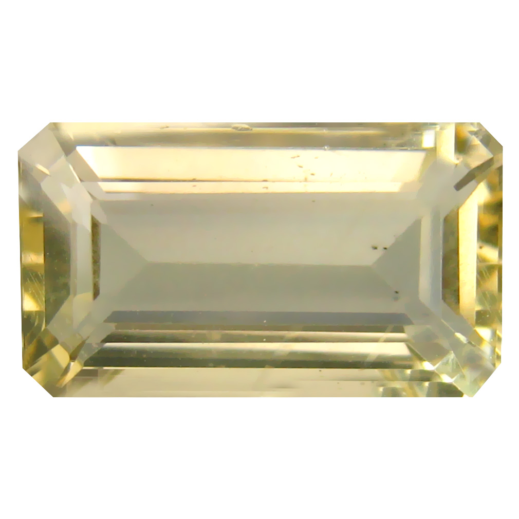 9.40 ct Attractive Octagon Cut (17 x 10 mm) Un-Heated Natural Yellow Andesine Loose Gemstone