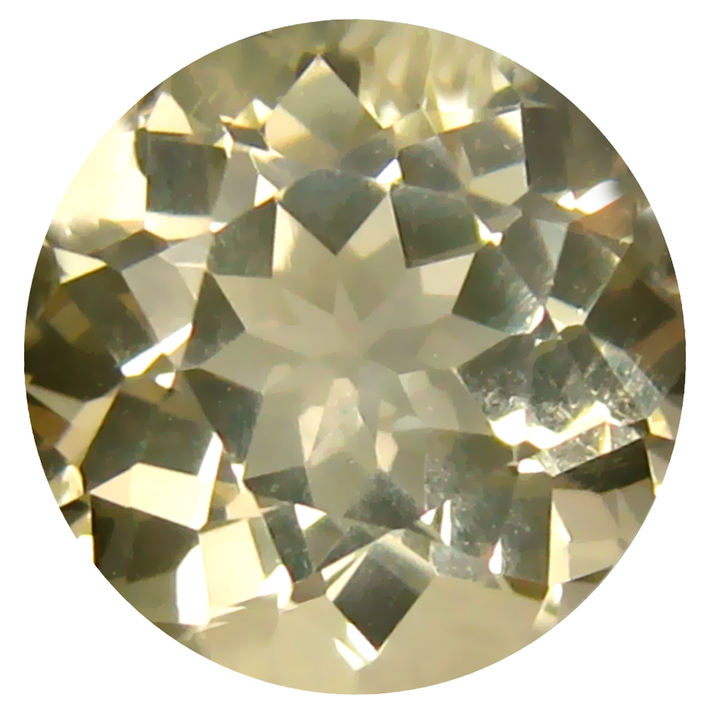 2.75 ct Mesmerizing 9 mm Round Shape Un-Heated Yellow Yellow Andesine Natural Gemstone