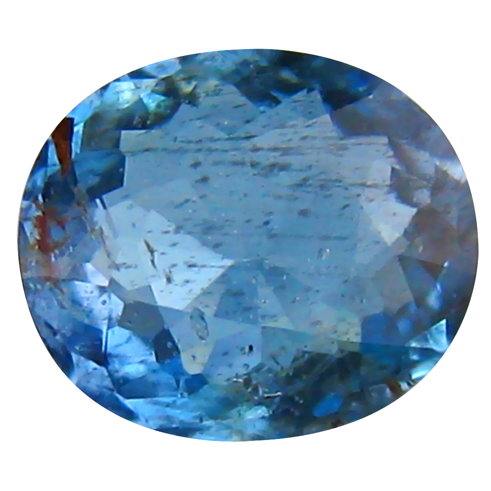 0.60 ct Oval Cut (6 x 5 mm) de Itabira Mine Brazilian Santa Maria Aquamarine