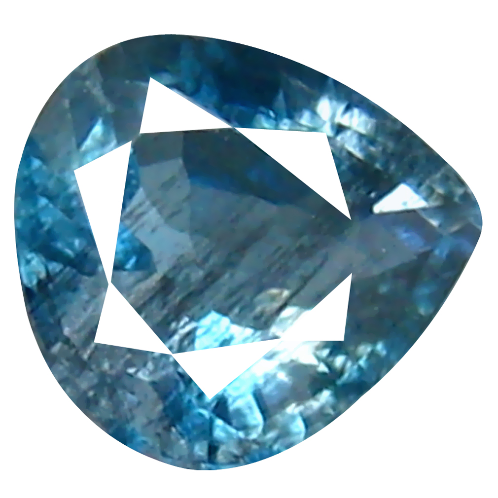 0.37 ct PEAR CUT (5 X 5 MM) DE ITABIRA MINE BRAZILIAN SANTA MARIA AQUAMARINE