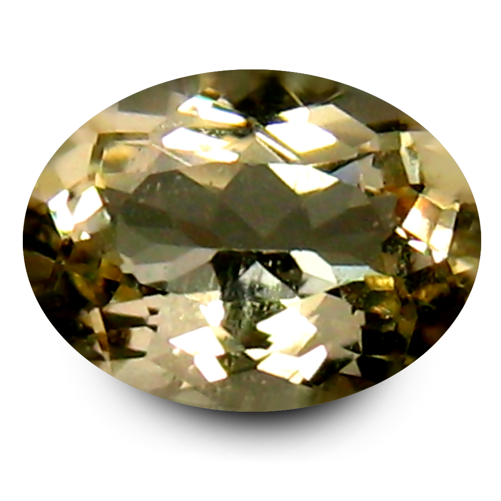0.76 ct AAA World class Oval Shape (7 x 5 mm) Yellow Heliodor Beryl Natural Gemstone
