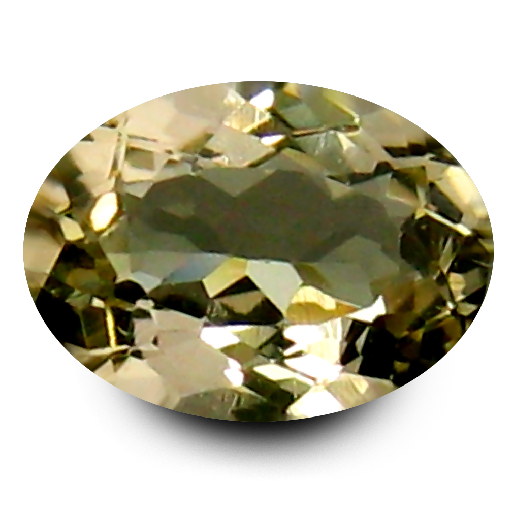 0.59 ct AAA Superior Oval Shape (7 x 5 mm) Yellow Heliodor Beryl Natural Gemstone