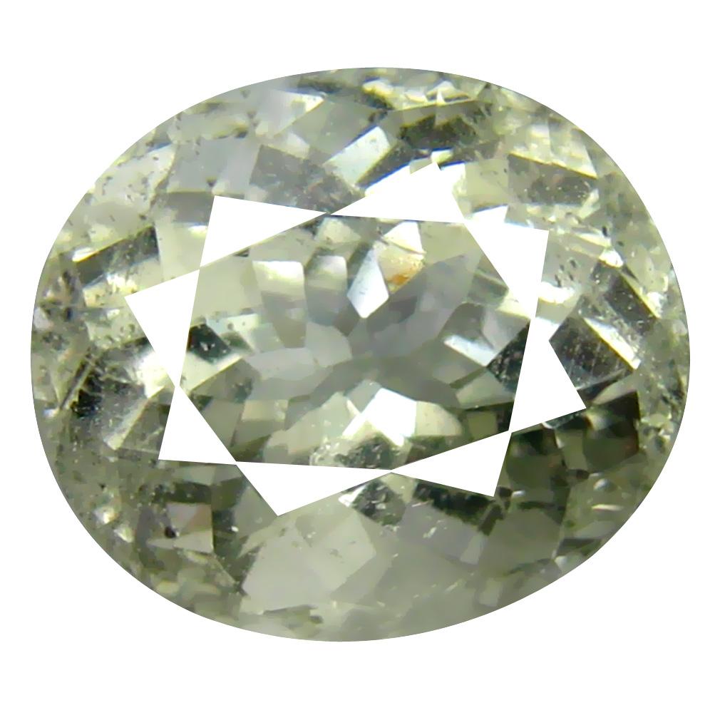 4.16 ct AAA Supreme Oval Shape (11 x 9 mm) Natural Green Beryl Loose Stone