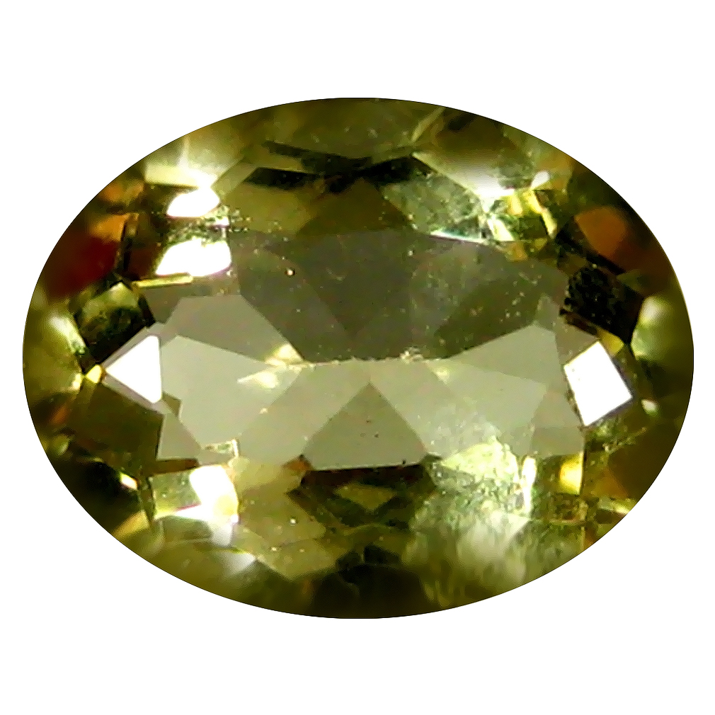 1.54 ct AAA Topnotch Oval Shape (9 x 7 mm) Yellow Heliodor Beryl Natural Gemstone