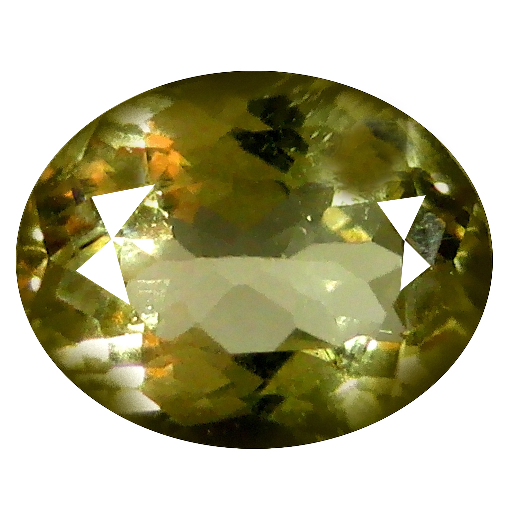 1.81 ct AAA Good-looking Oval Shape (9 x 7 mm) Yellow Heliodor Beryl Natural Gemstone