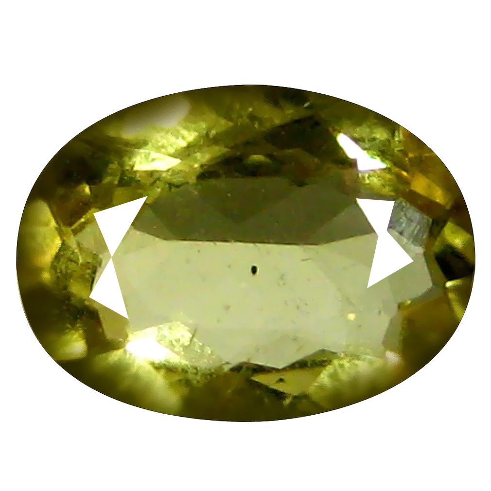 0.85 ct AAA Magnificent fire Oval Shape (8 x 6 mm) Yellow Heliodor Beryl Natural Gemstone