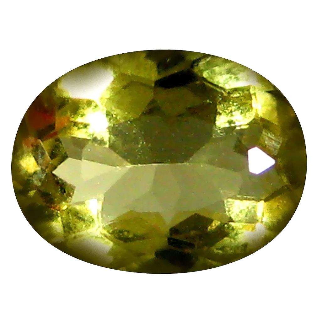 0.86 ct AAA Fantastic Oval Shape (8 x 6 mm) Yellow Heliodor Beryl Natural Gemstone