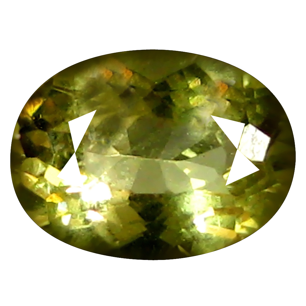 0.66 ct AAA Valuable Oval Shape (7 x 5 mm) Yellow Heliodor Beryl Natural Gemstone