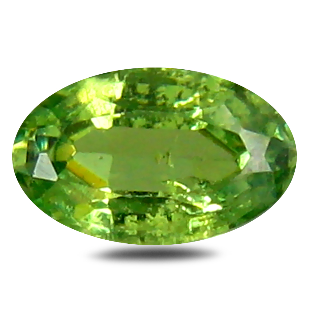 0.28 ct Romantic Oval Cut (5 x 3 mm) Un-Heated Natural Demantoid Garnet Loose Gemstone