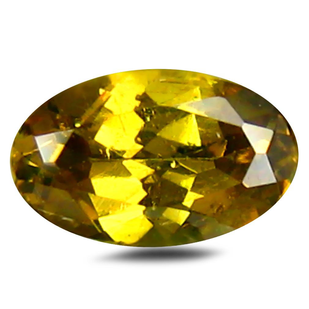 0.28 ct Supreme Oval Cut (5 x 5 mm) Un-Heated Natural Demantoid Garnet Loose Gemstone