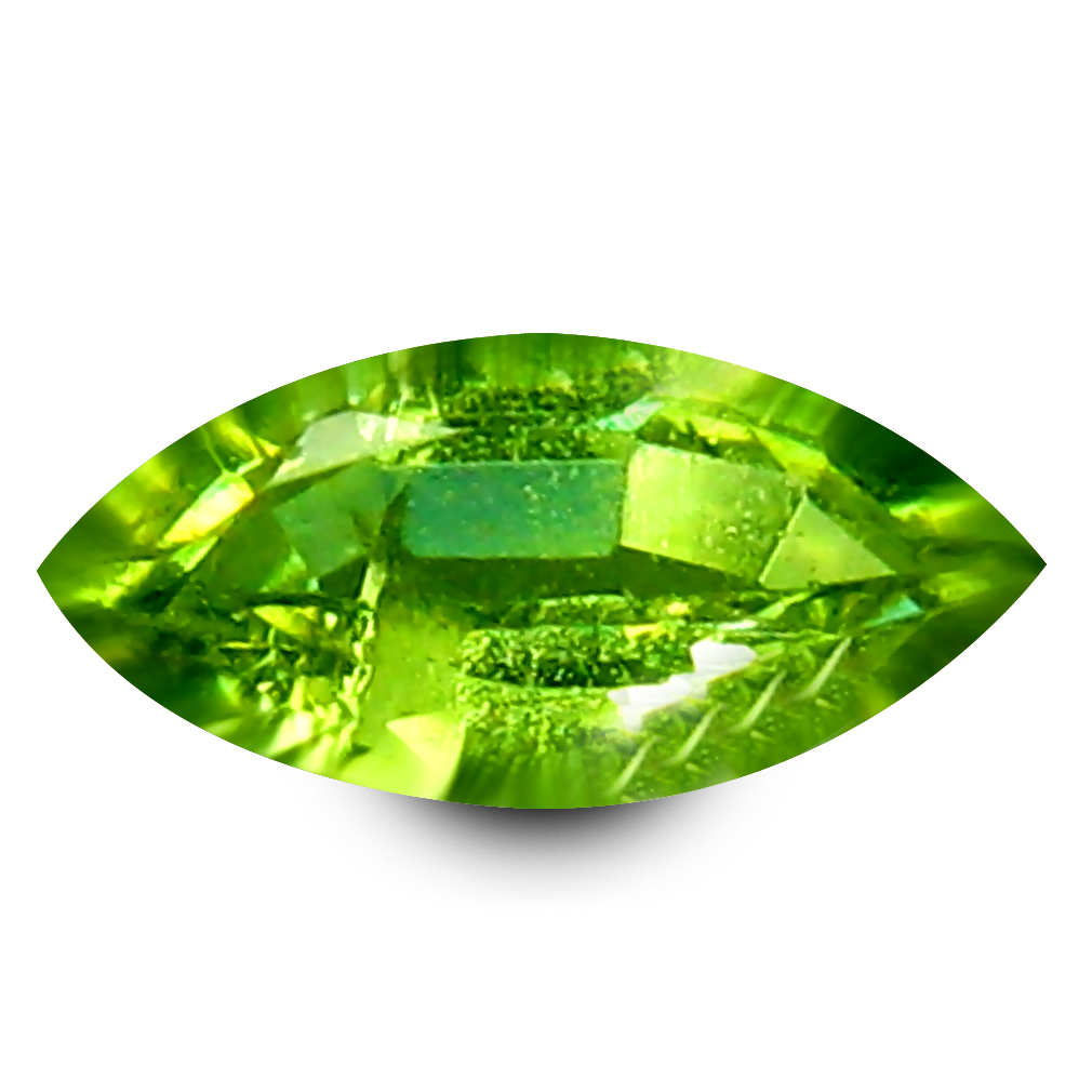 0.14 ct Magnificent fire Marquise Cut (5 x 2 mm) Un-Heated Natural Demantoid Garnet Loose Gemstone