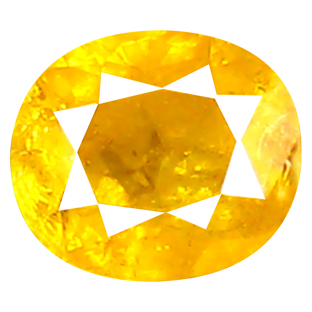 0.17 ct Impressive Oval Shape (3 x 3 mm) Fancy Yellow Diamond Genuine Stone