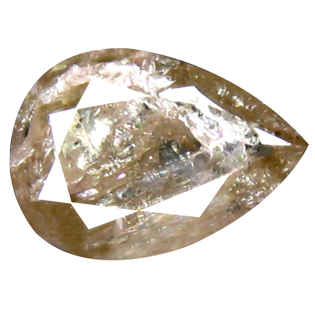 0.50 ct Eye-popping Pear Cut (6 x 4 mm) 100% Natural (Un-Heated) Fancy Yellow Diamond Natural Gemstone