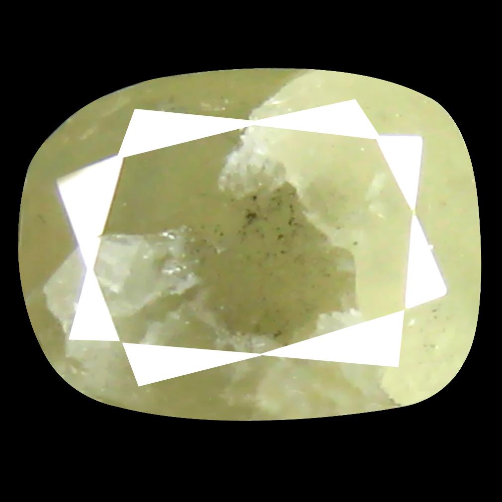 0.59 ct Supreme Cushion Cut (6 x 4 mm) 100% Natural (Un-Heated) Fancy Yellow Diamond Natural Gemstone