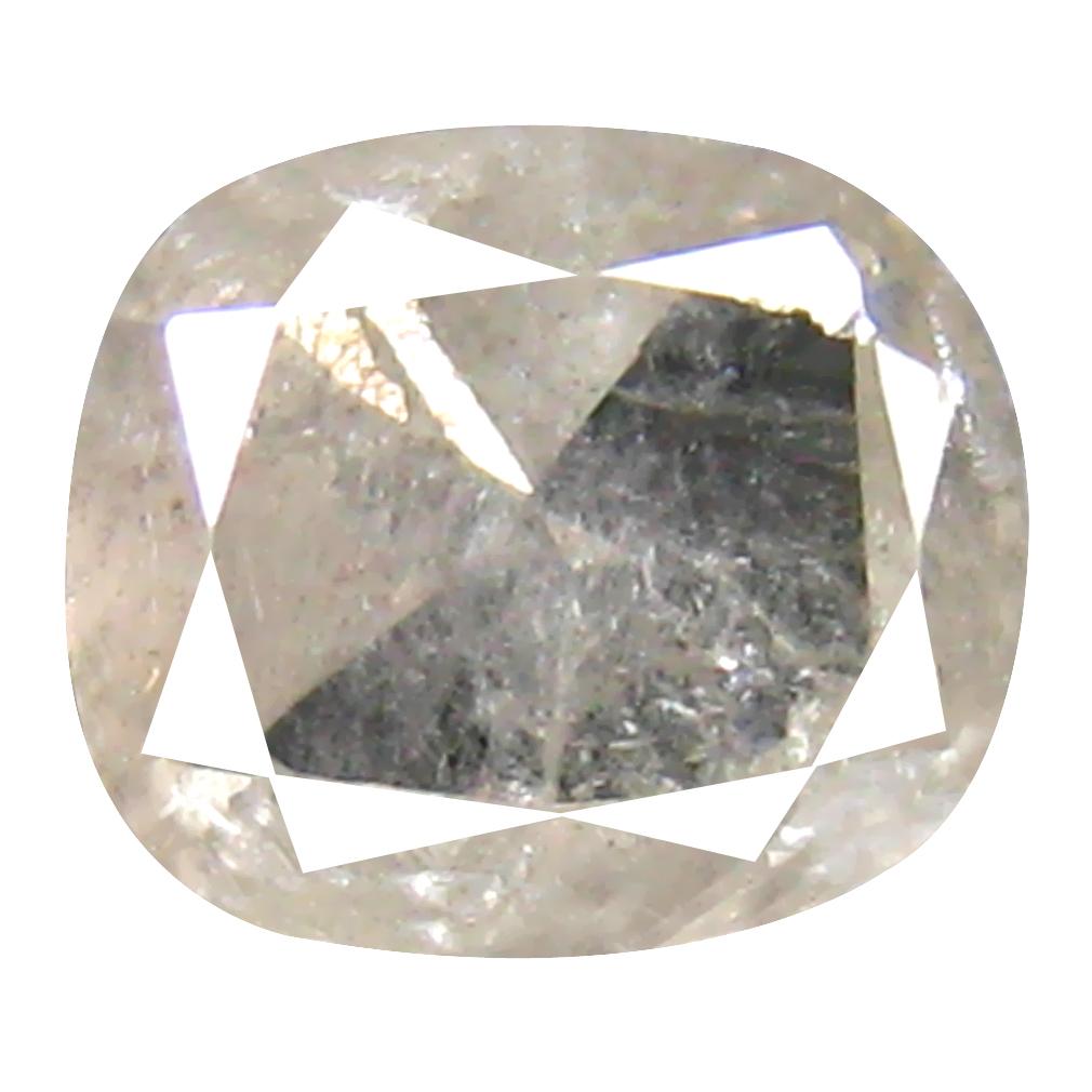 0.58 ct Spectacular Cushion Cut (5 x 5 mm) 100% Natural (Un-Heated) White Diamond Natural Gemstone