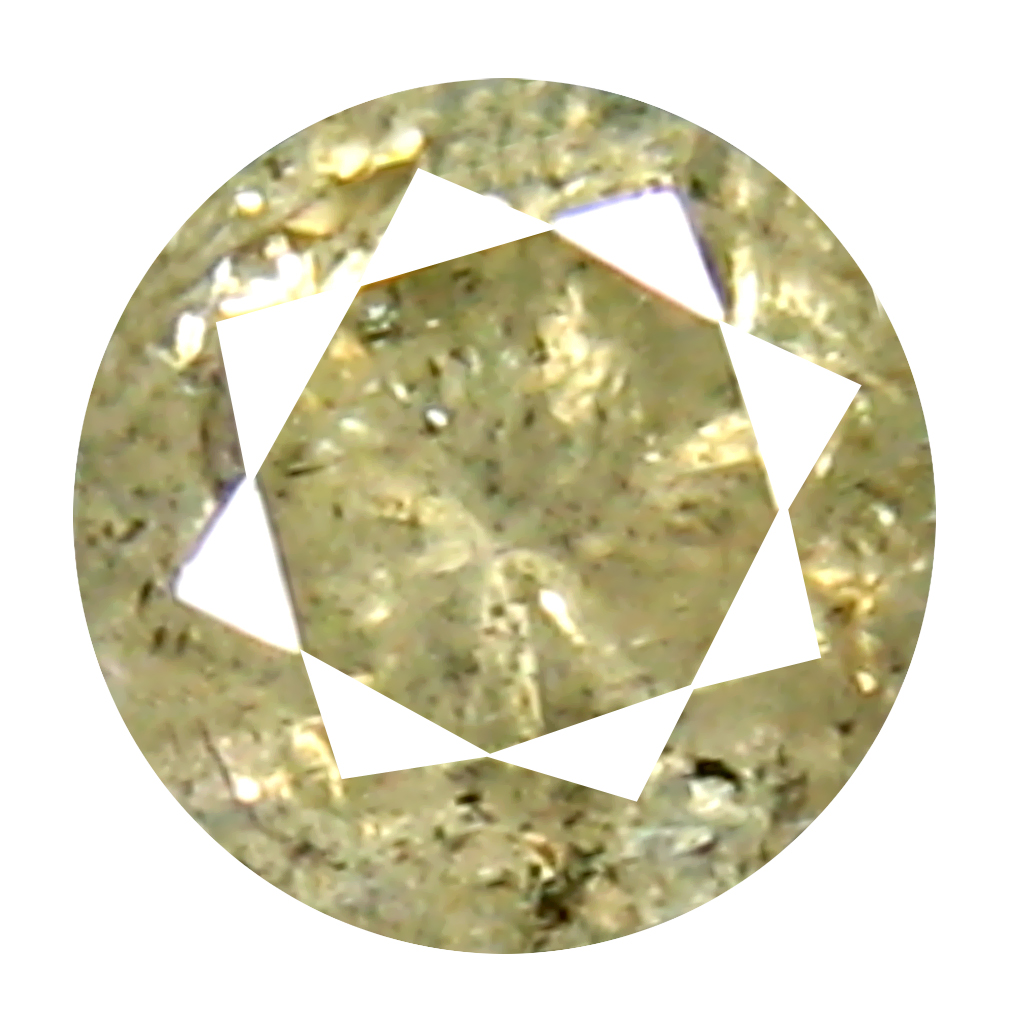 0.20 ct Charming Round Cut (4 x 4 mm) 100% Natural (Un-Heated) Fancy Yellow Diamond Natural Gemstone