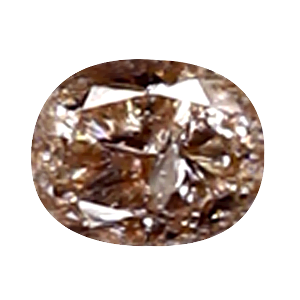 0.06 ct WORLD CLASS OVAL (3 X 2 MM) 100% NATURAL (UN-HEATED) AUSTRALIA PINK DIAMOND LOOSE GEMSTONE