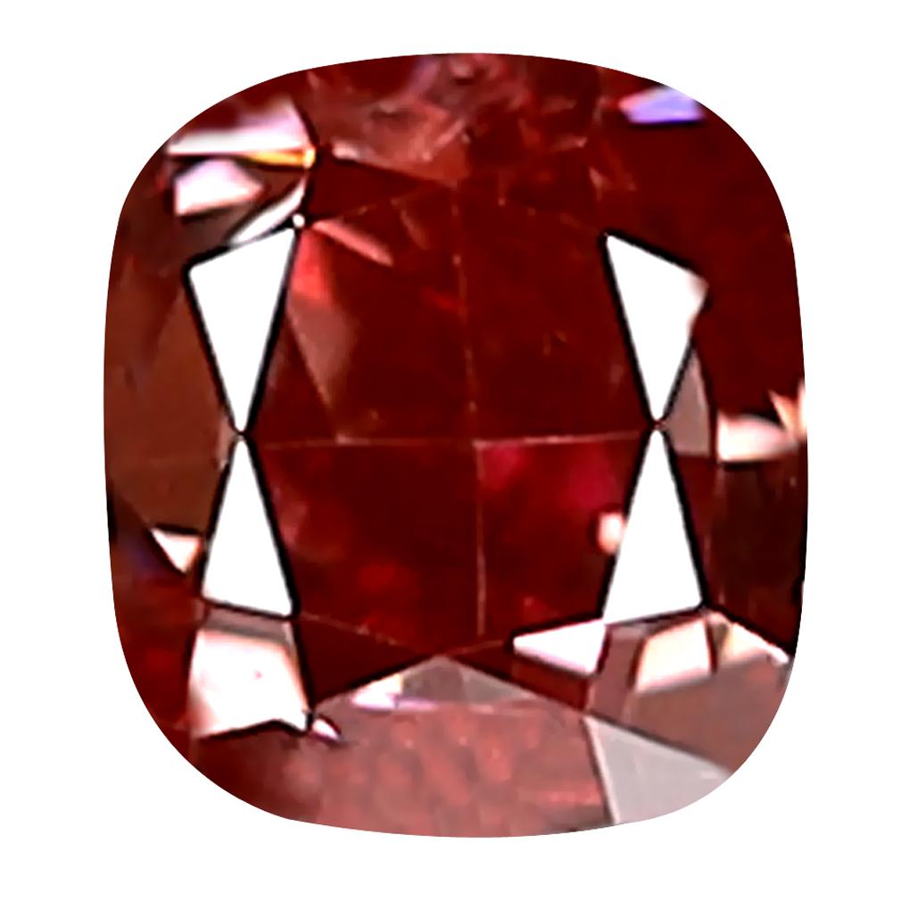 0.20 ct EXQUISITE CUSHION CUT (3 X 3 MM) SI CLARITY PURPLISH PINK DIAMOND LOOSE STONE