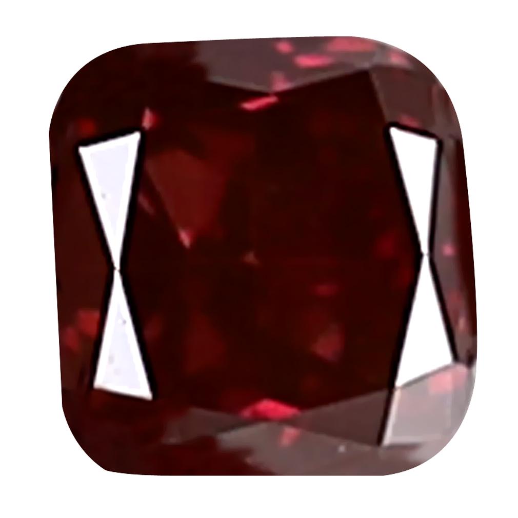0.09 ct PREMIUM CUSHION CUT (3 X 2 MM) SI CLARITY PURPLISH PINK DIAMOND LOOSE STONE
