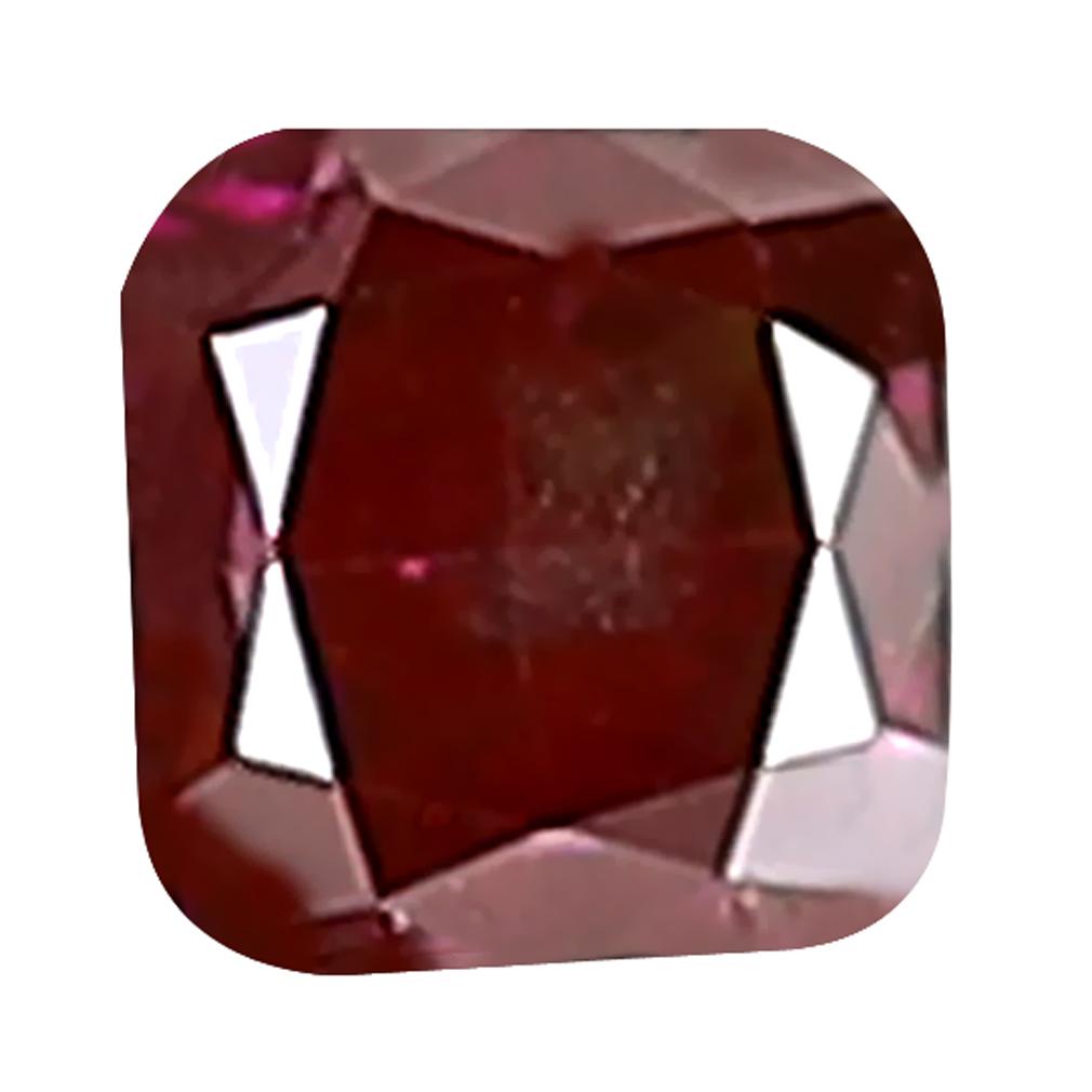 0.06 ct EYE-POPPING CUSHION CUT (2 X 2 MM) SI CLARITY PURPLISH PINK DIAMOND LOOSE STONE