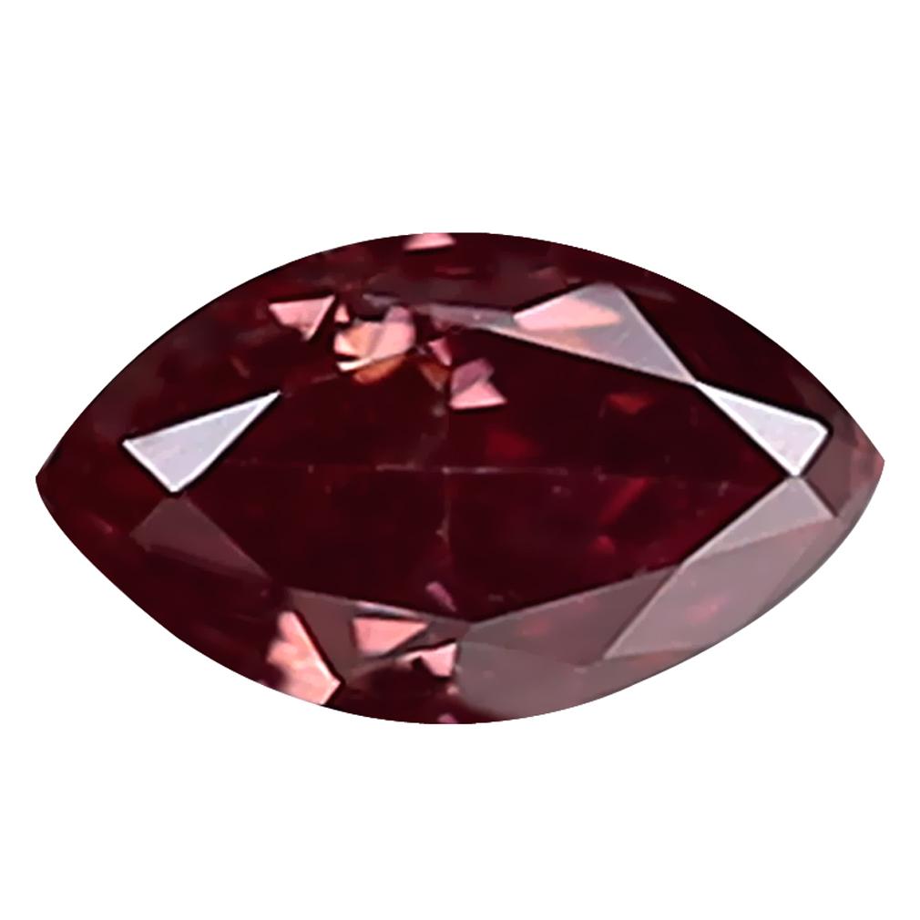 0.12 ct MESMERIZING MARQUISE CUT (4 X 2 MM) SI CLARITY PURPLISH PINK DIAMOND LOOSE STONE