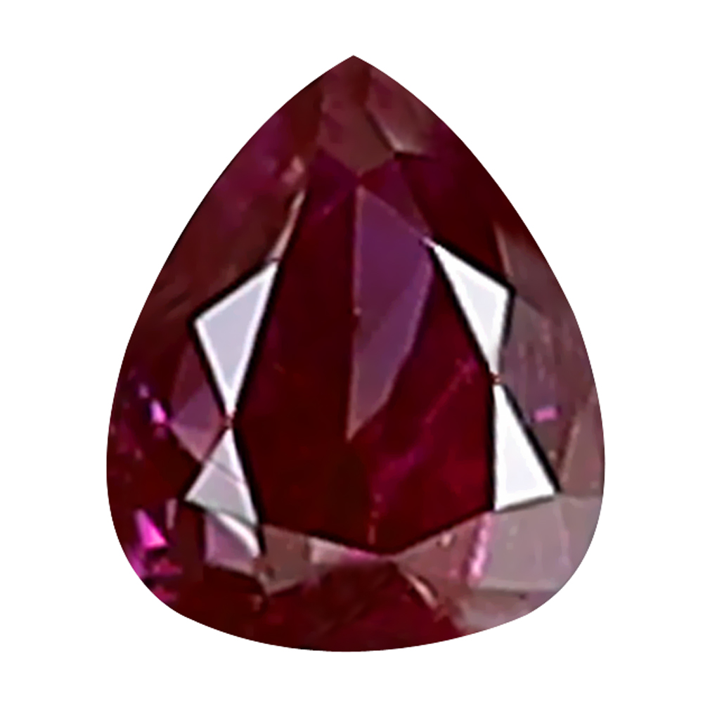 0.07 ct UNBELIEVABLE PEAR CUT (3 X 2 MM) SI CLARITY PURPLISH PINK DIAMOND LOOSE STONE