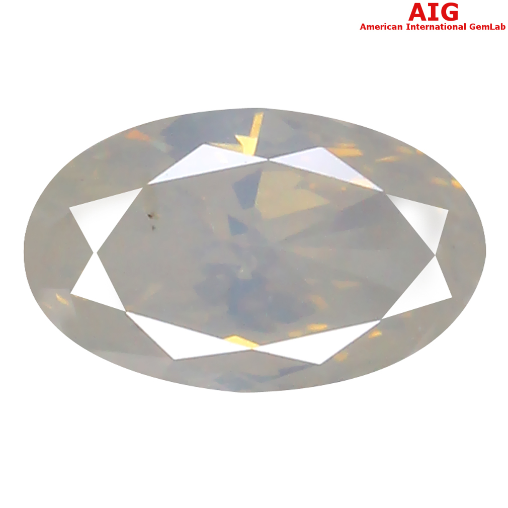 0.51 ct AIG CERTIFIED MAGNIFICENT MARQUISE SHAPE (7 X 4 MM) FANCY WHITE DIAMOND NATURAL GEMSTONE