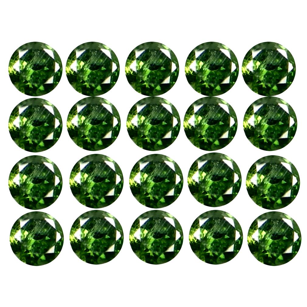 0.20 ct (20 pcs Lot) Topnotch CALIBRATED SIZE(1 x 1 mm) Round Shape Diamond Natural Gemstone