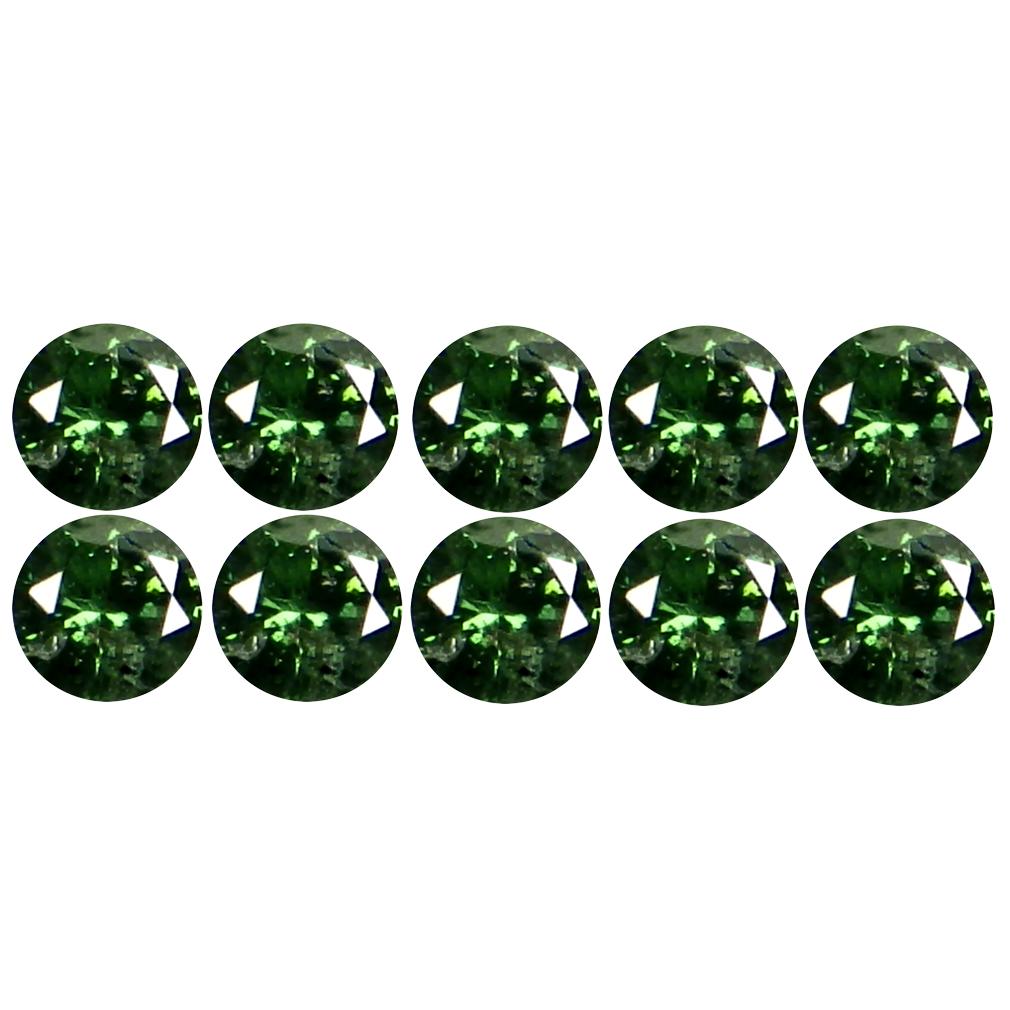 0.20 ct (10 pcs Lot) Phenomenal CALIBRATED SIZE(2 x 2 mm) Round Shape Diamond Natural Gemstone