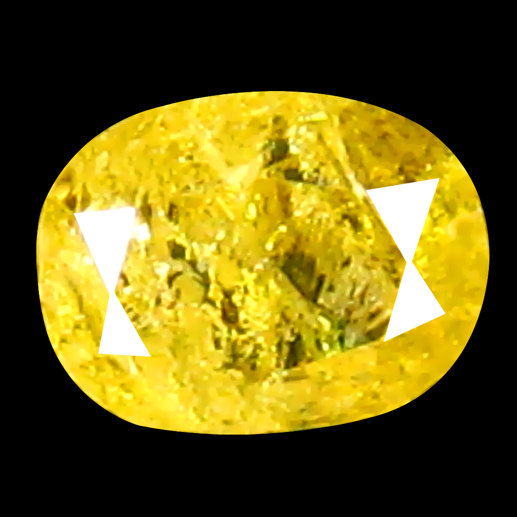 0.12 ct Exquisite Oval Cut (3 x 3 mm) 100% Natural (Un-Heated) Fancy Yellow Diamond Natural Gemstone