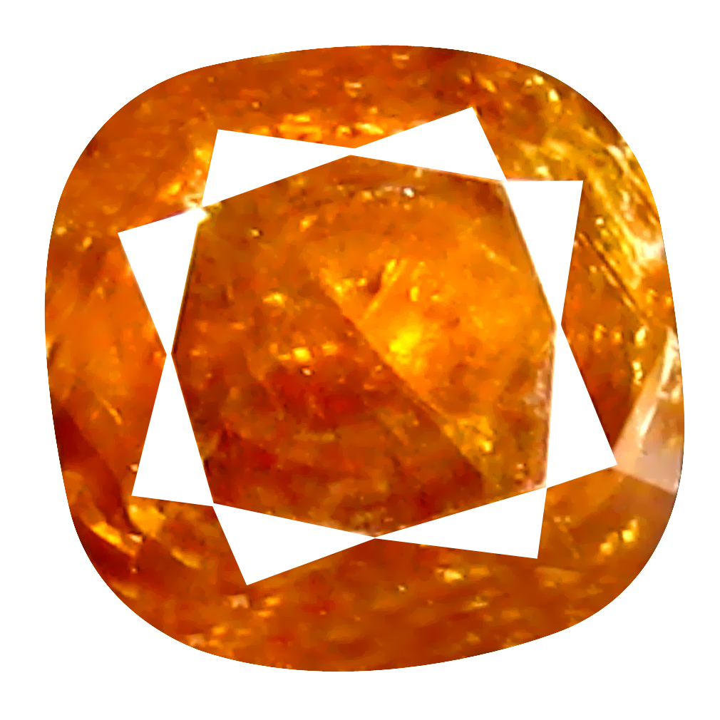 0.48 ct Beautiful Cushion Cut (4 x 4 mm) Unheated / Untreated Reddish Pink Diamond Natural Gemstone