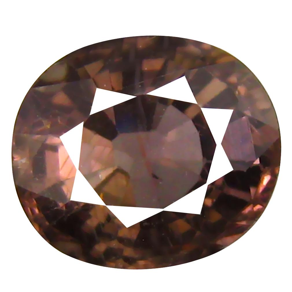 2.01 ct AAA Romantic Oval Shape (8 x 7 mm) Brown Tourmaline Natural Gemstone