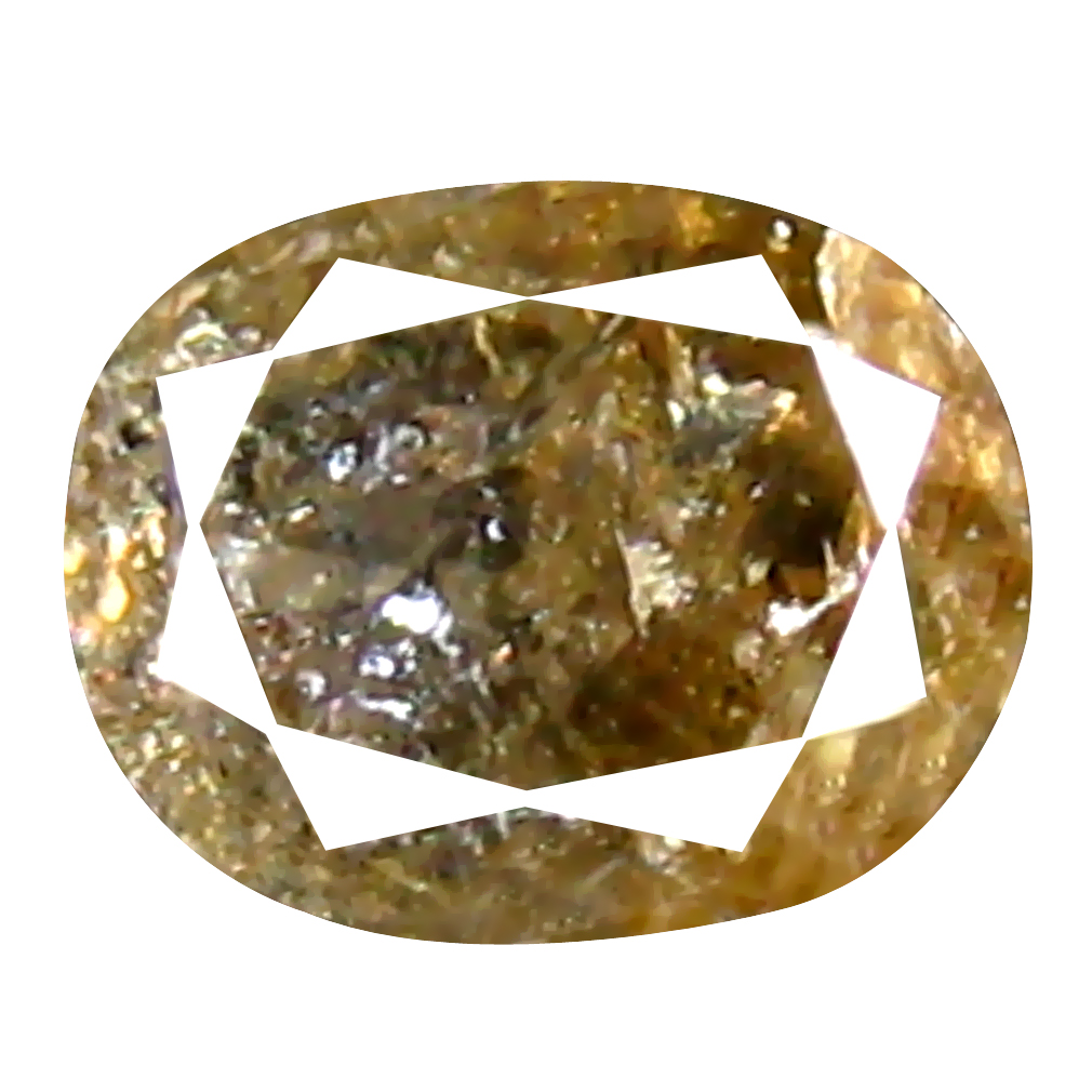 0.22 ct Superior Oval Cut (4 x 3 mm) 100% Natural (Un-Heated) Fancy Yellow Diamond Natural Gemstone